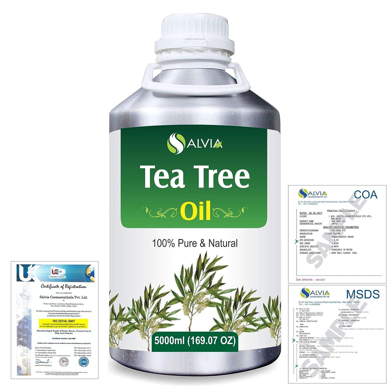 Tea Tree (Melaleuca alternifolia) 100% Natural Pure Essential Oil 5000ml/169fl.oz. B07R4TJP6W