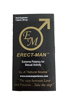 Amazon.com: Erect-Man Extreme Potency Male Enhancement Pill! Last up to 3 Days! -10 Pills!: Health & Personal Care