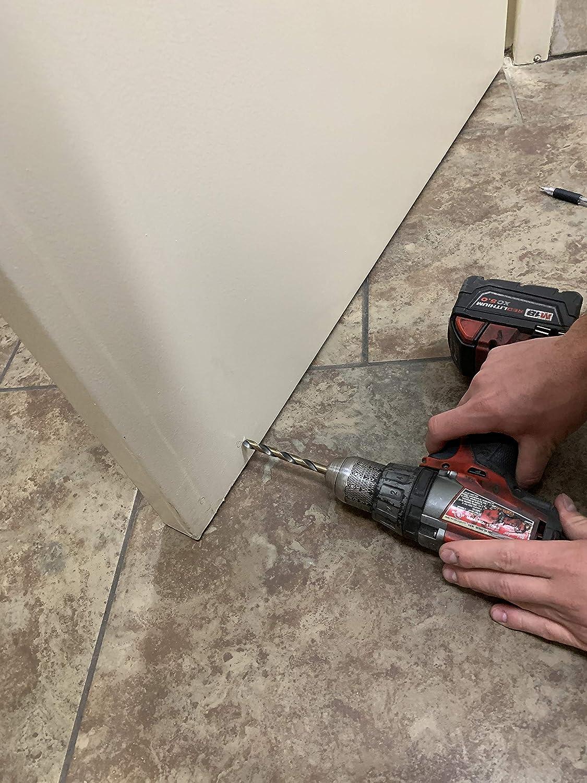 Silver No Touch Hands Free Foot Operated Door Opener for Bathroom,Office Door Foot Pull Door Opener DECRON Toe-N-GO Huge Bulk Discounts