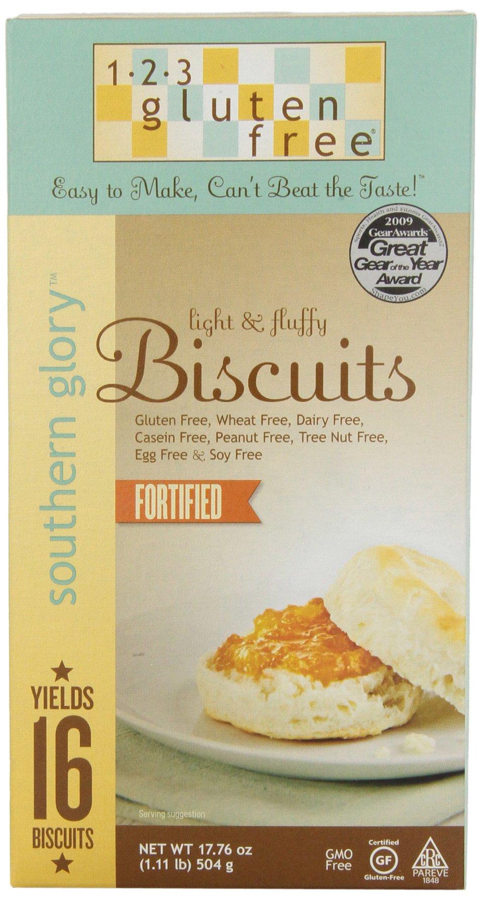123 Gluten Free Biscuit Mix Wheat And Gluten Free, 17.76 oz
