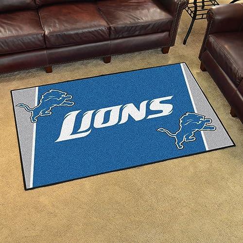 Fanmats NFL – Detroit Lions 4×6 Rug 44 x71