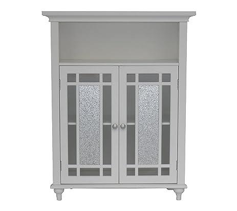 Amazon Elegant Home Fashions Windsor Double Door Floor Cabinet