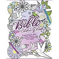 Bible Coloring Book: Inspirational Bible Verse Quotes Coloring Book For Adult
