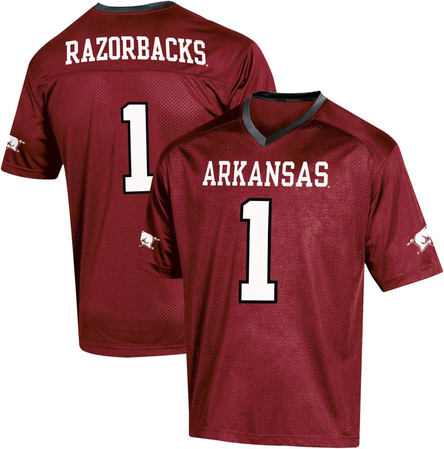 arkansas razorback football jersey