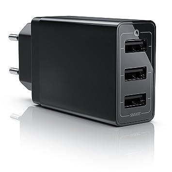 aplic 30W Cargador Móvil USB 3 Puertos | Quick Charge ...