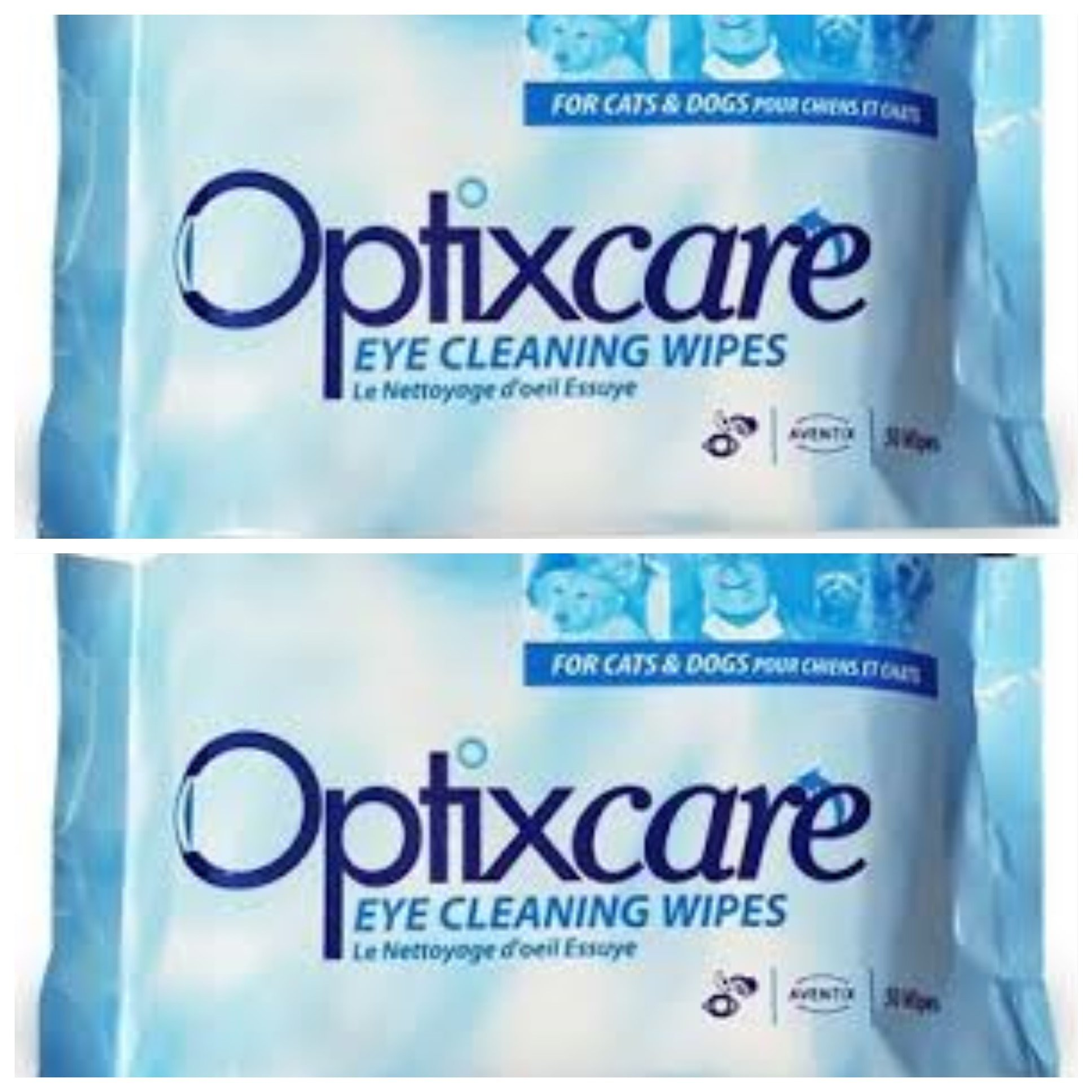 OptixCare Eye Cleaning Wipes (50 count), 2 Pack