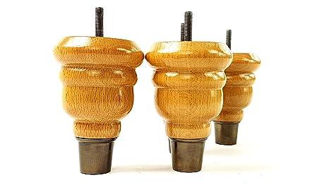Knightsbrandnu u piedini per mobili in legno massello di