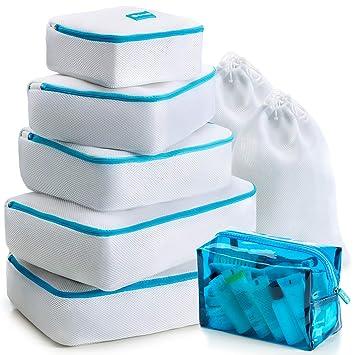 Amazon.com: Juego de cubos de embalaje de 8 piezas ...