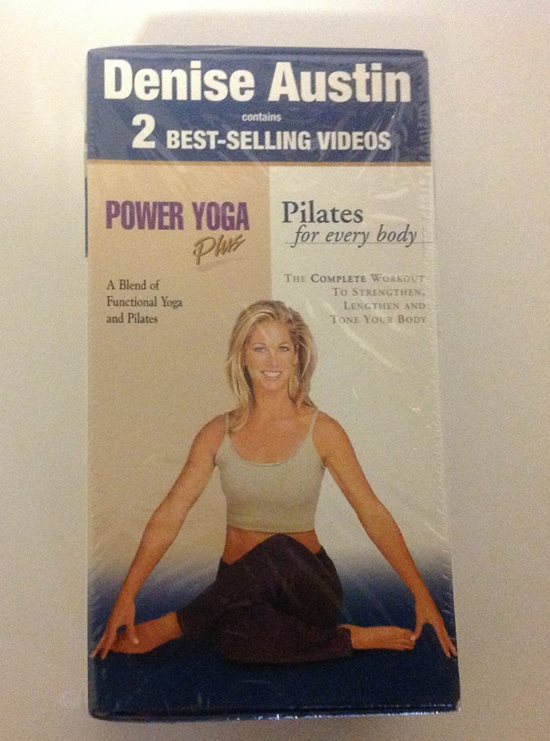 Amazon.com : (2 vhs) boxed pilates for every Body & Power ...