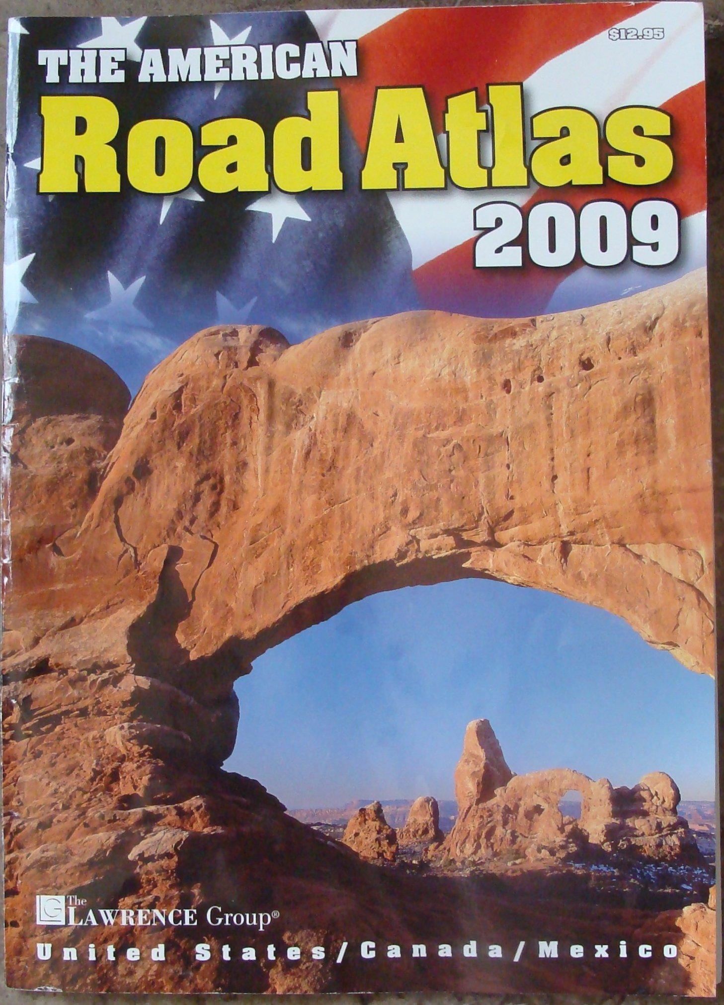 Download The American Road Atlas 2009, United States, Canada, Mexico pdf epub