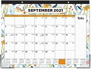 2021-2022 Desk Calendar - 18 Monthly Desk/Wall Calendar 2-in-1, 17