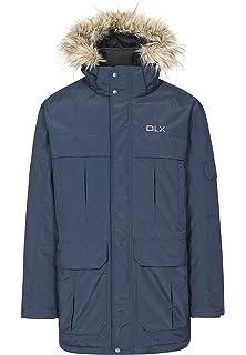 Trespass DLX Highland Mens Down Parka Jacket  Amazon.co.uk  Sports ... d41fc6280d