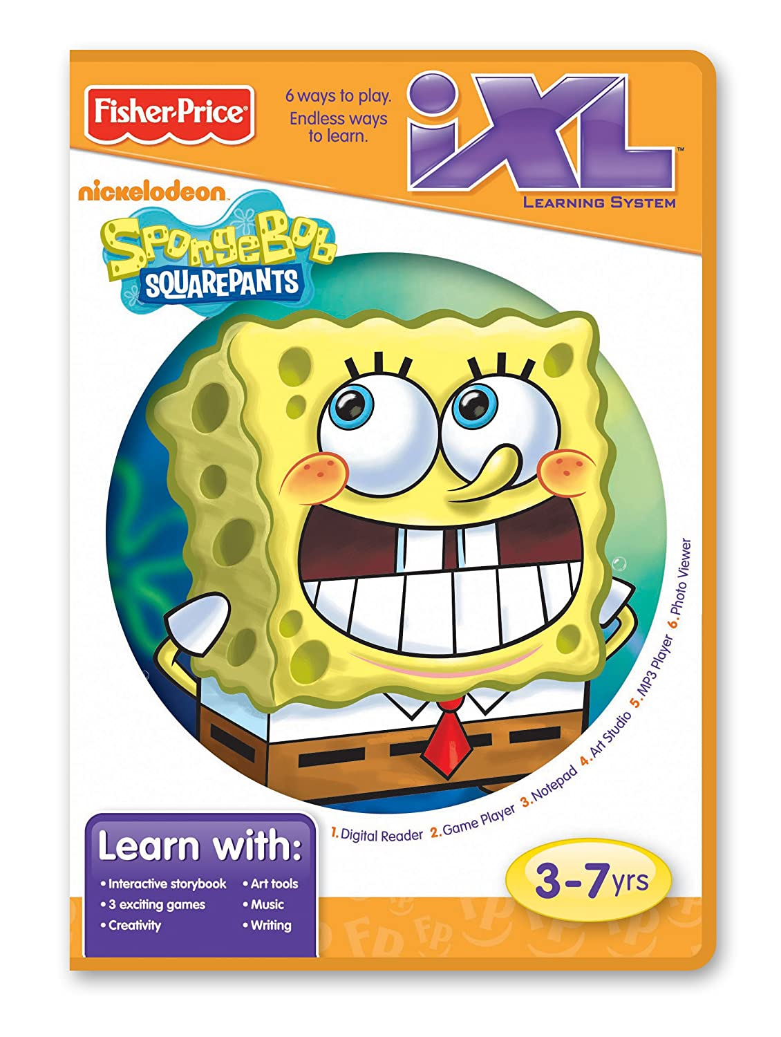 Amazon.com: Nickelodeon Fisher-Price iXL Learning System Software ...