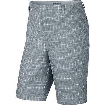 superior quality 5d7d4 623ae Nike Men s Dri-Fit Plaid Golf Shorts Grey 818047 088 Size 38, Shorts -  Amazon Canada