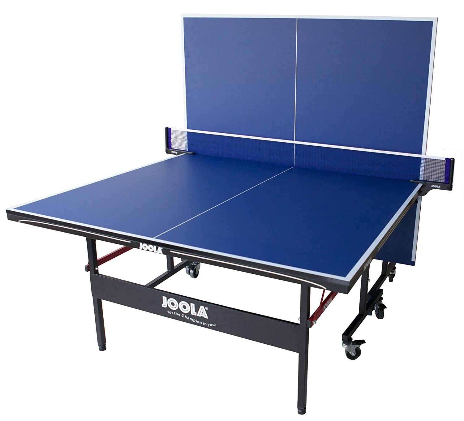 JOOLA Quattro Table Tennis Table with pact Net Set Nets