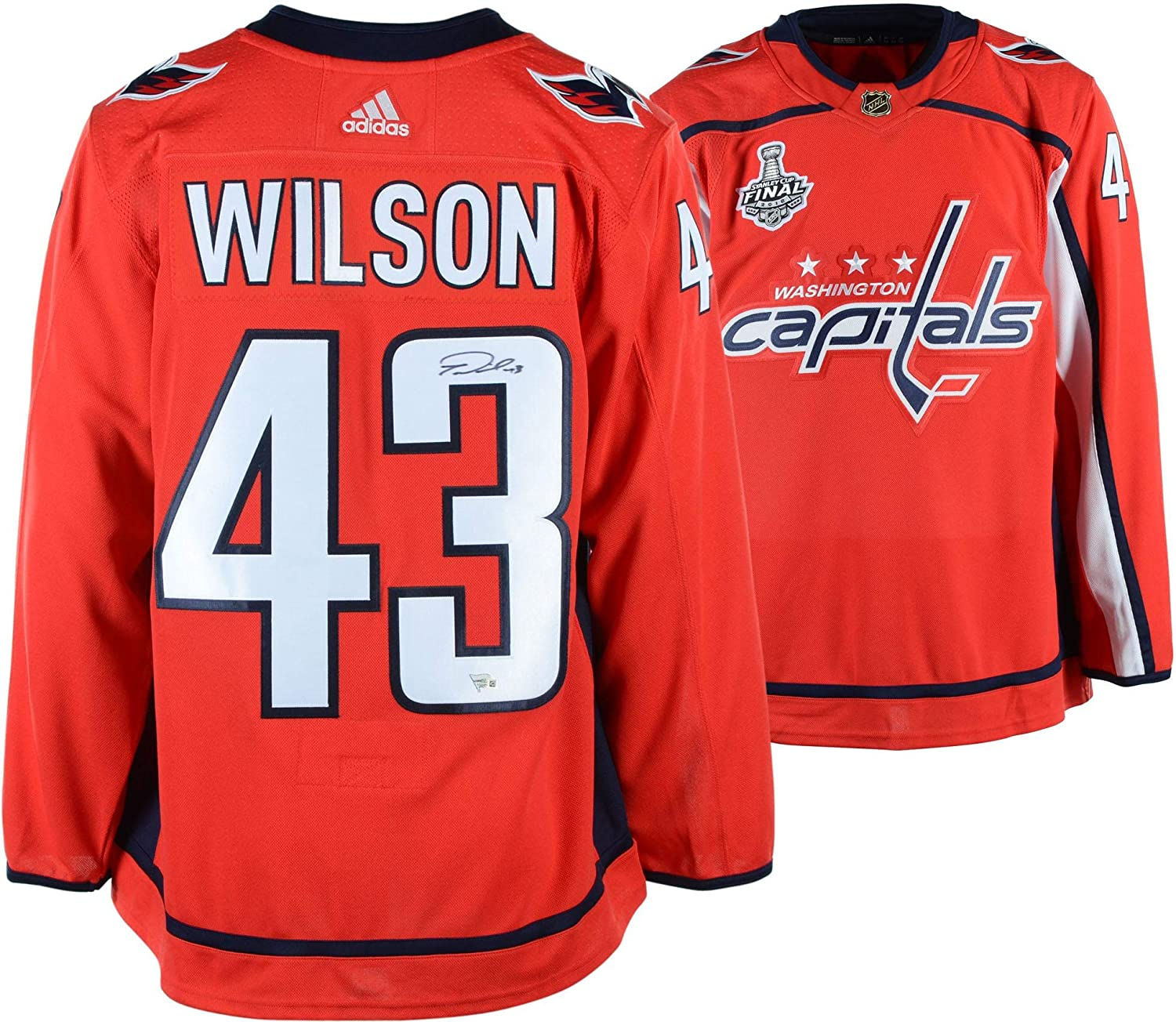 sneakers for cheap a21c2 11244 Tom Wilson Washington Capitals 2018 Stanley Cup Champions ...