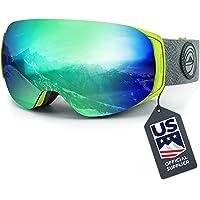$34 » Wildhorn Roca Snowboard & Ski Goggles - US Ski Team Official Supplier - Interchangeable Lens…