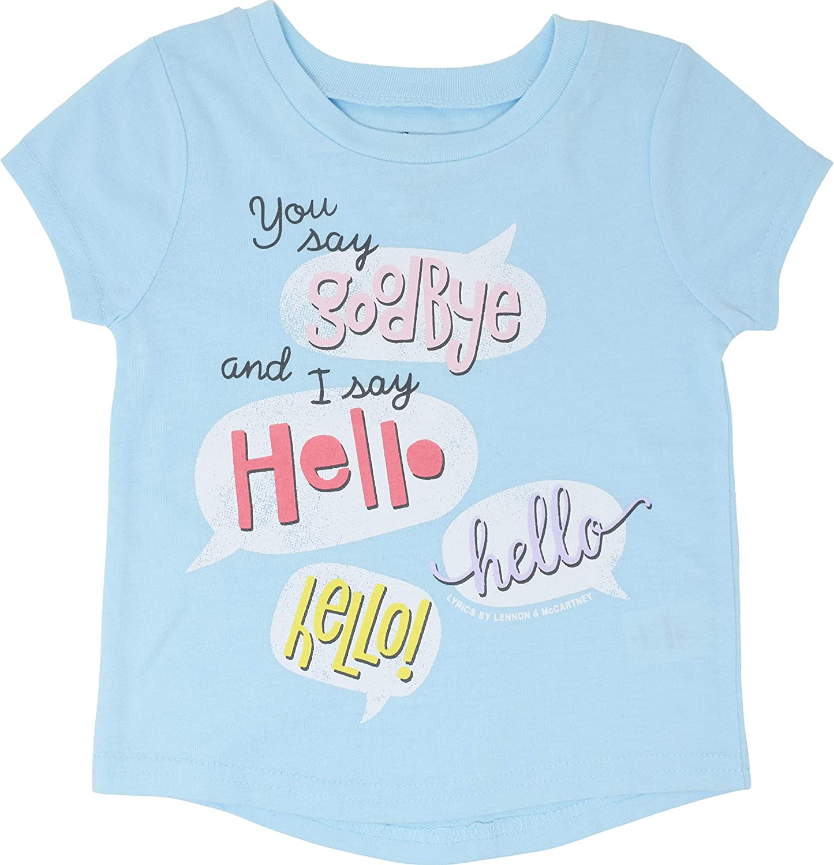The Beatles Girls Lyrics 5 Pack T-Shirts