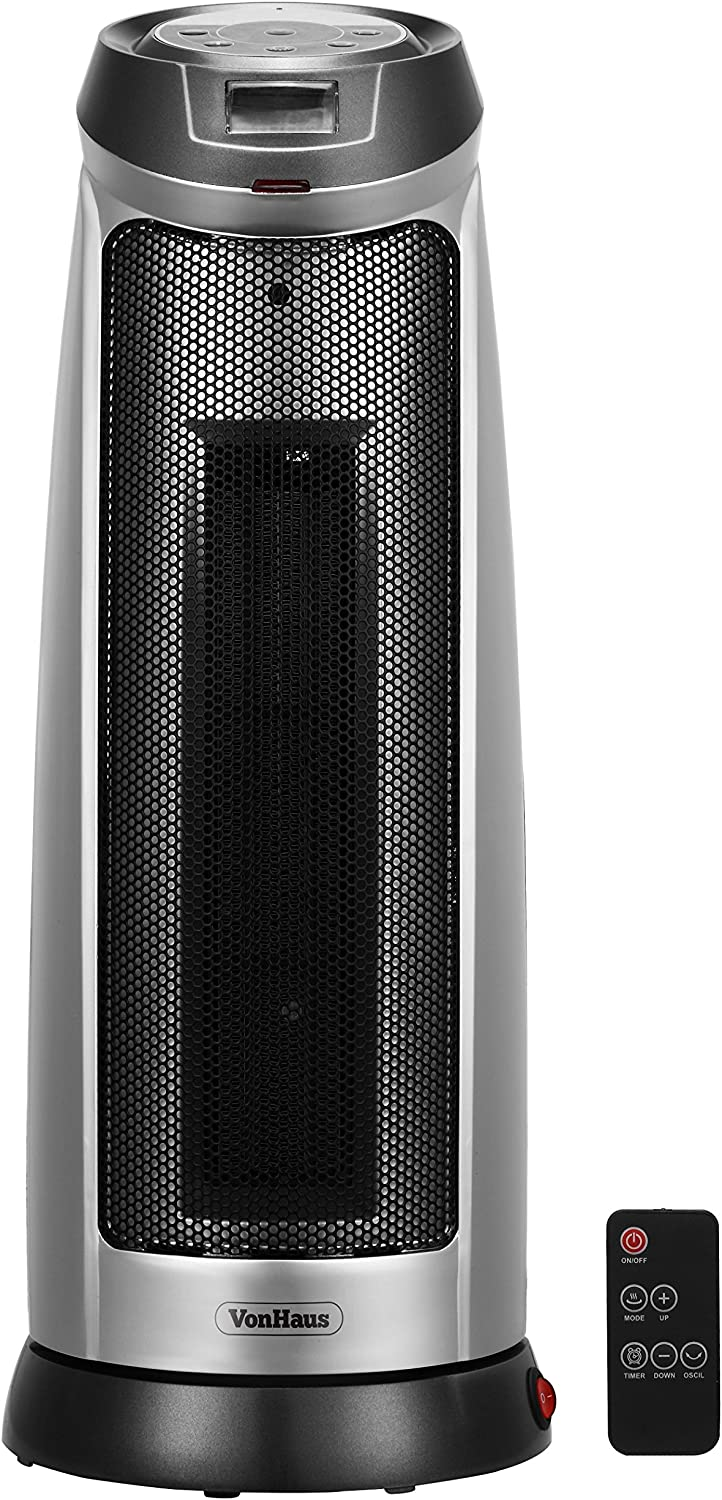 VonHaus 2000W Oscillating Fan Heater Review