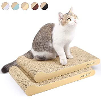 Amazon Com Amznova Cat Scratchers Cardboard Durable Kitty
