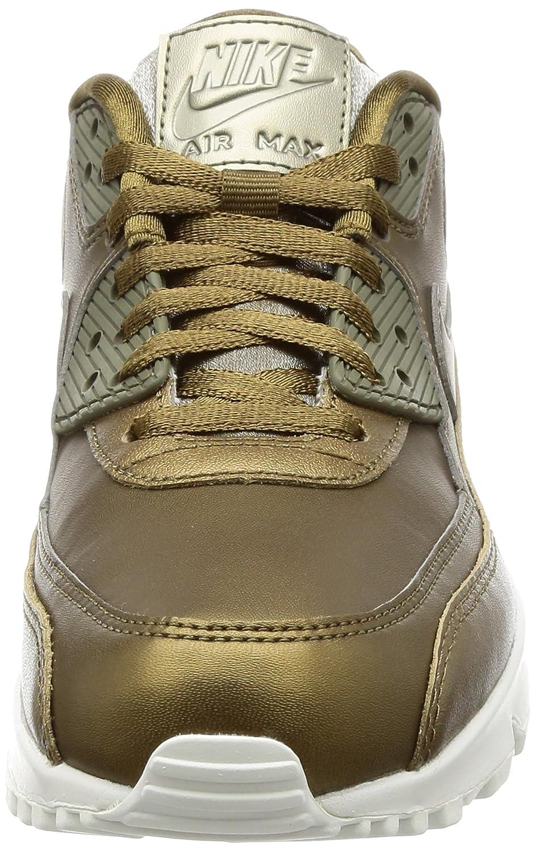 Nike Damen Air Max 90 Premium MeshLeder Sneaker