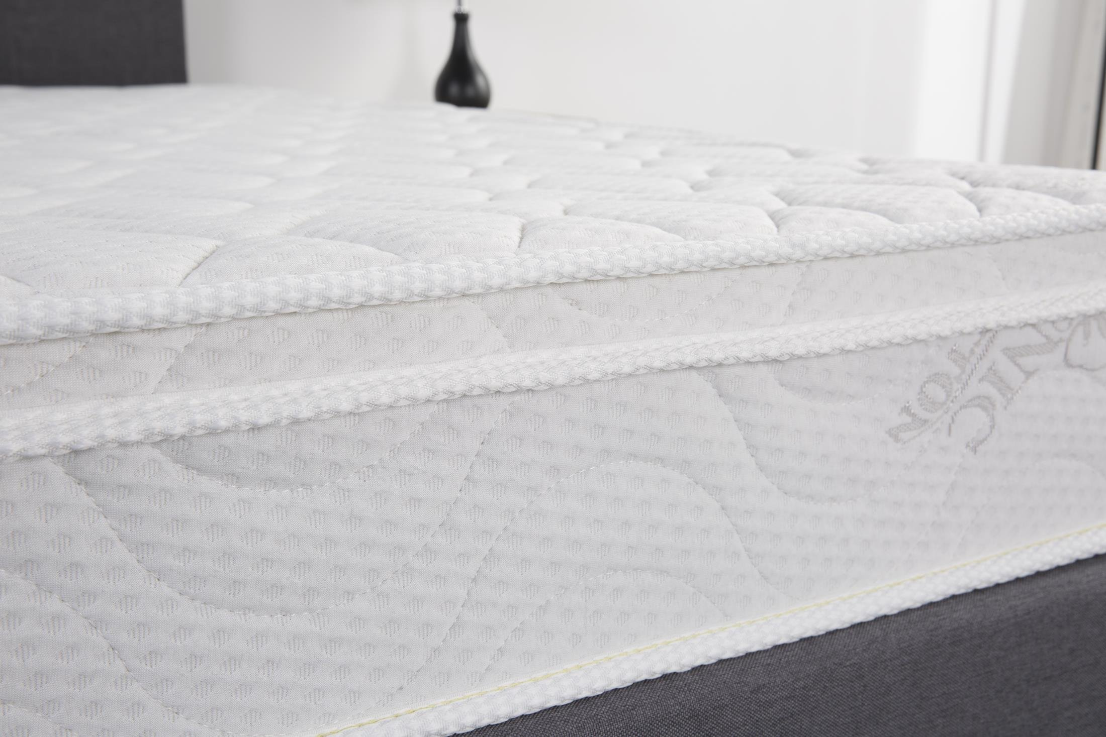 Oliver Smith - Organic Cotton - Euro Top - Revitalize Sleep - 8 Inch - Pocket Spring - Luxury Mattress w Green Memory Foam Certified - Full