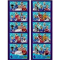 Panini Premier League 2021 Sticker Collectie (x10 Packs), gemengd