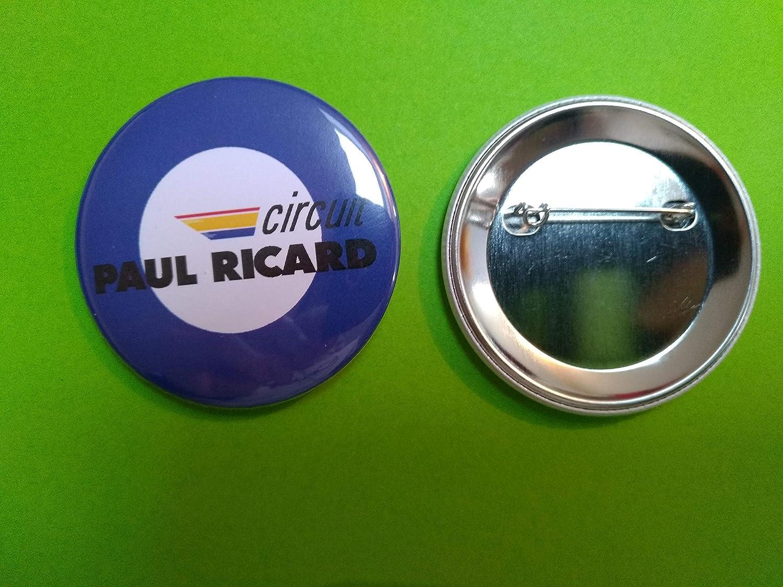 Transport Offert//Badge 56 MM//Neuf//Circuit Paul Ricard Bleu BA0005