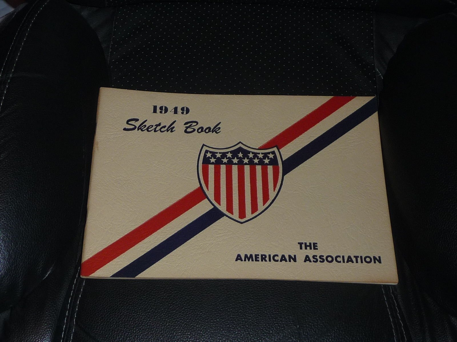 1949 AMERICAN ASSOCIATION MINOR LEAGUE BASEBALL SKETCH BOOK YEARBOOK