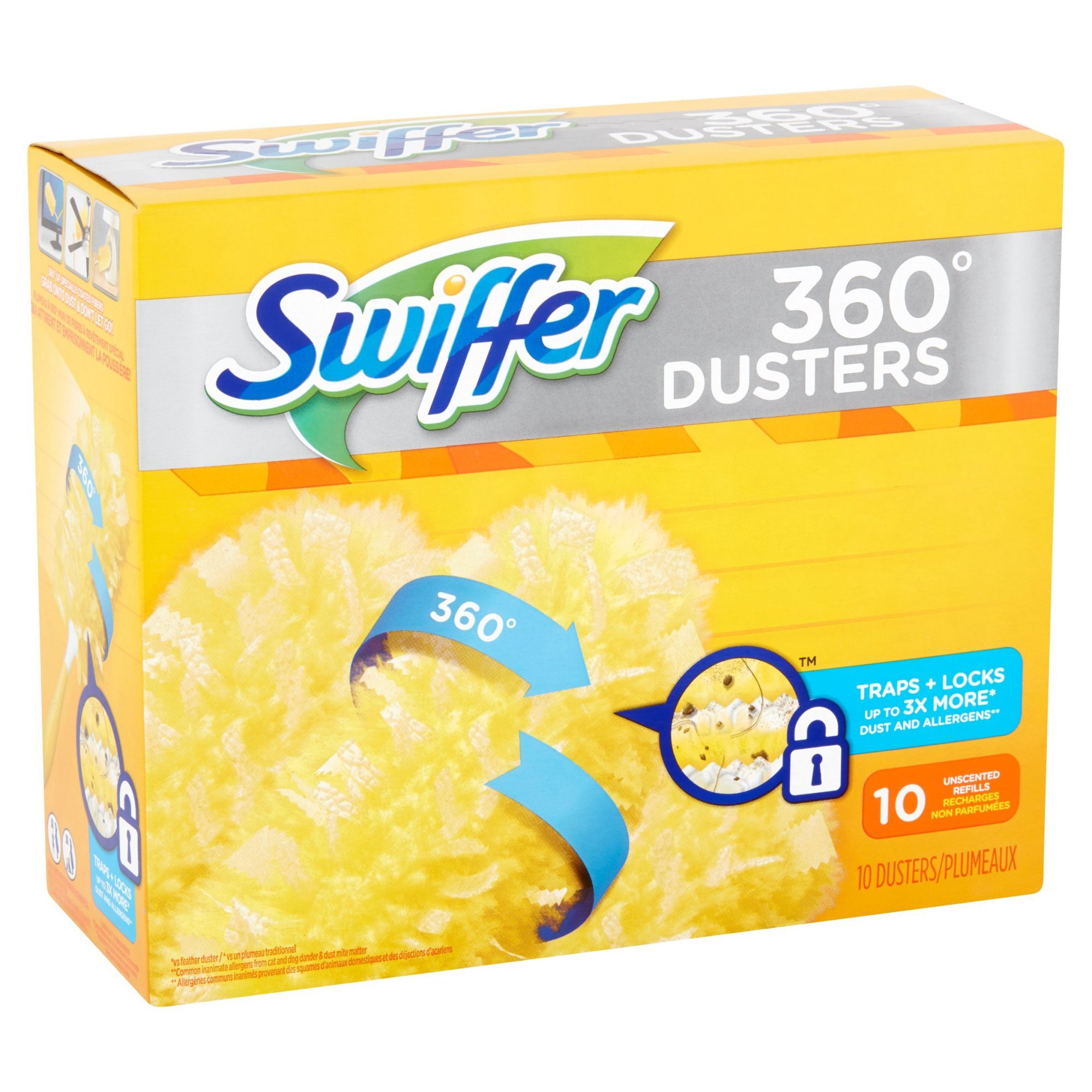 Swiffer 360 Dusters Refills, 10 Count Duster Refill (Pack of 5)