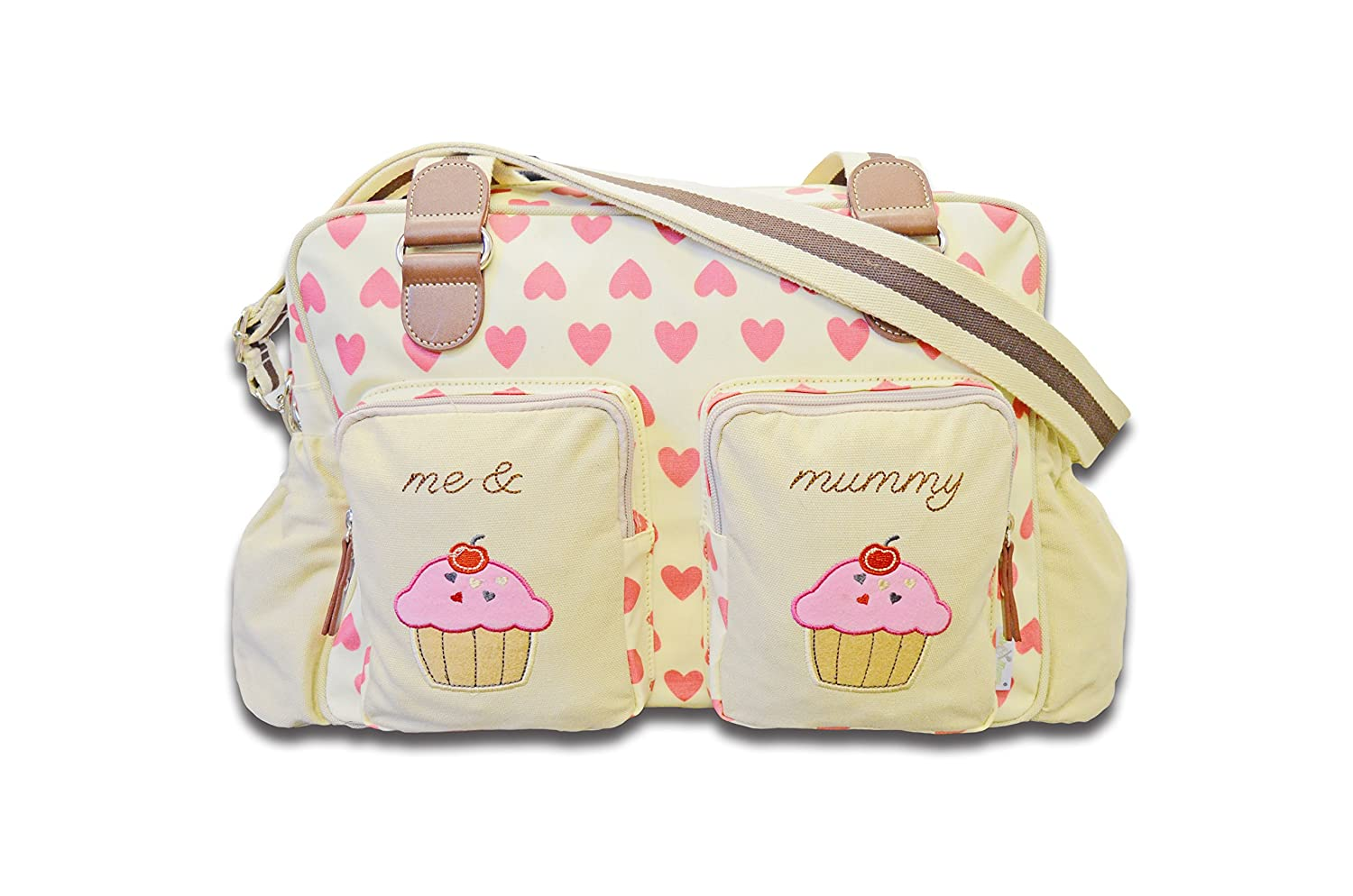 Cuddles Collection Me and Mummy Hearty Changing Bag CCU11007