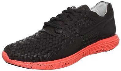 outlet store 7e42a 32bcd Nike Men's Lunar Flow Woven Lth Tz Black Tea/Black Tea Casual Shoe 10 Men