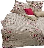 estella mako jersey bettw sche 6312 in gold 155x220 80x80 cm k che haushalt. Black Bedroom Furniture Sets. Home Design Ideas