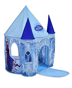 cheap for discount c53bb 28e66 Disney Frozen Ice Castle Role Play Tent: Amazon.co.uk: Toys ...
