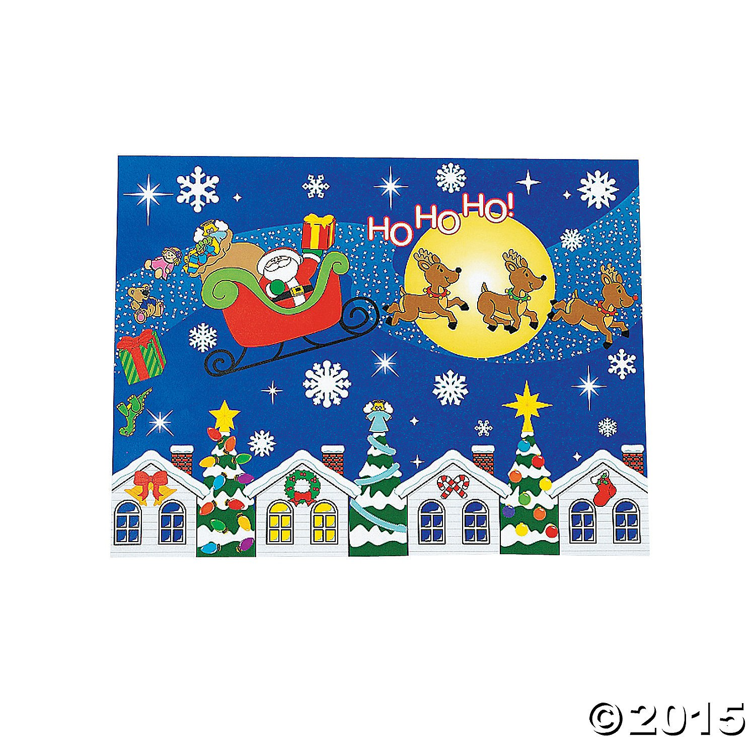 Design Your Own Merry Christmas To All Sticker Scenes - Stickers & Labels & Sticker Scenes
