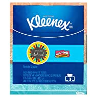 Kleenex Trusted Care White Facial Tissue, 160 2-Ply Tissues, (Pack of 3)