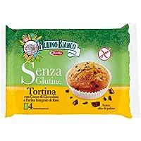 Mulino Bianco Senza Glutine Tortina con Gocce di Cioccolato Gluten Free - 140 gr