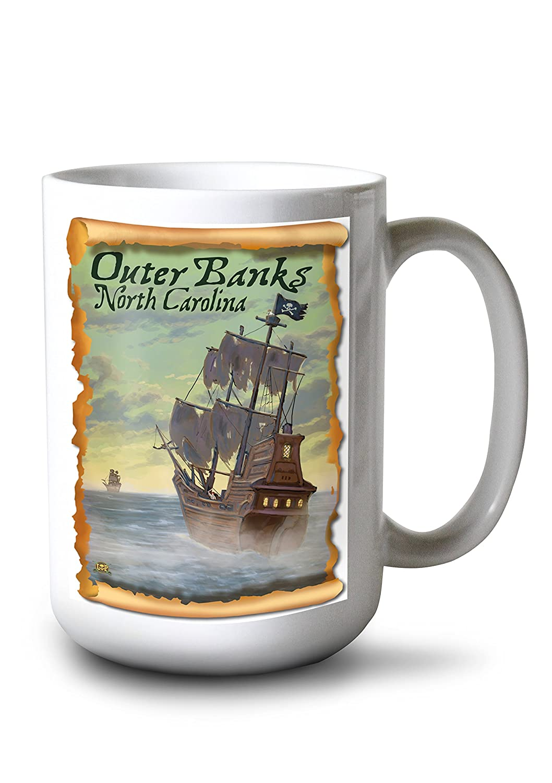 新作人気モデル Pirate Ship – Ship Outer North Banks , LANT-42224-TT North Carolina Canvas Tote Bag LANT-42224-TT B077RSBS5J 15oz Mug 15oz Mug, エイブルマート:c835c182 --- catconnects-ie.access.secure-ssl-servers.org