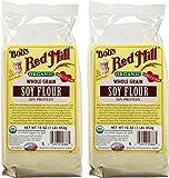Bob's Red Mill Organic Soy Flour - 16 oz - 2 pk