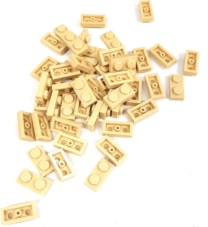 ☀️Lego x50 DARK TAN 1x2 Bricks building blocks Part Pieces Bulk Lot Legos #3004