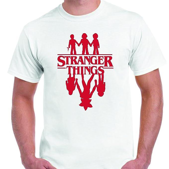 DrMugCollection Camiseta Stranger Things ¿Amigos?