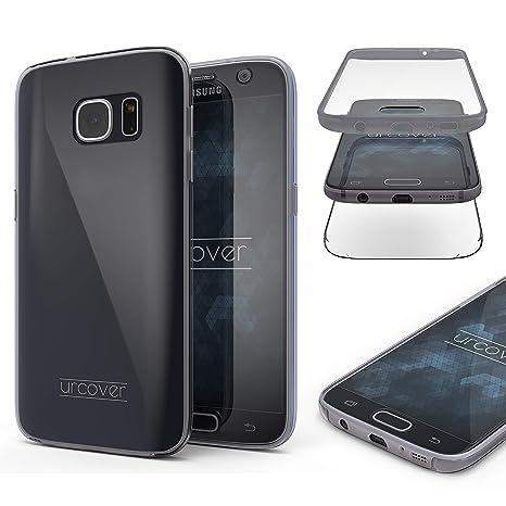 Urcover Compatible avec Samsung Galaxy S7 Coque 360 degrés Protection  Housse complète Avant et arrière, 0d9a7287e75a