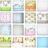 Deko Kissenbezug Baby Kinder Bezug für Kissen Kopfkissenbezug 80 x 80cm