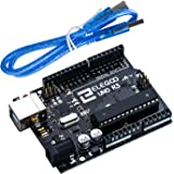Elegoo EL-CB-001 UNO R3 Board ATmega328P ATMEGA16U2 with USB Cable for Arduino