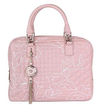 36c57baa06081 Versace DBFD290DNAR4-K68O Damen Handtasche Vanitas Demetra Powder  31cmx25cmx12cm