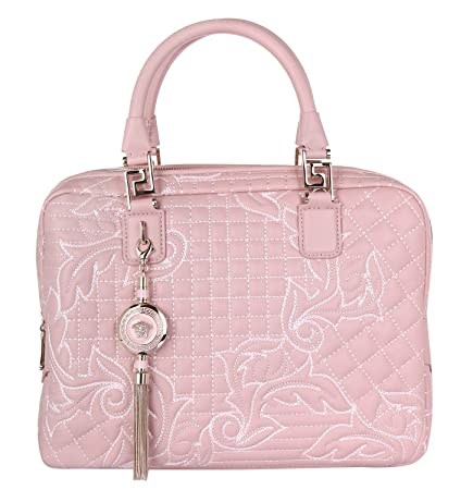ed5be2431ca7 Versace Women Handbag Vanitas Demetra Powder DBFD290DNAR4-K68O   Amazon.co.uk  Luggage