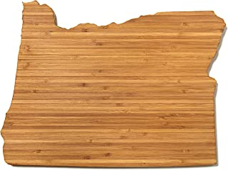 """product image for AHeirloom State of Oregon Cutting Board Amber, 15"""""""