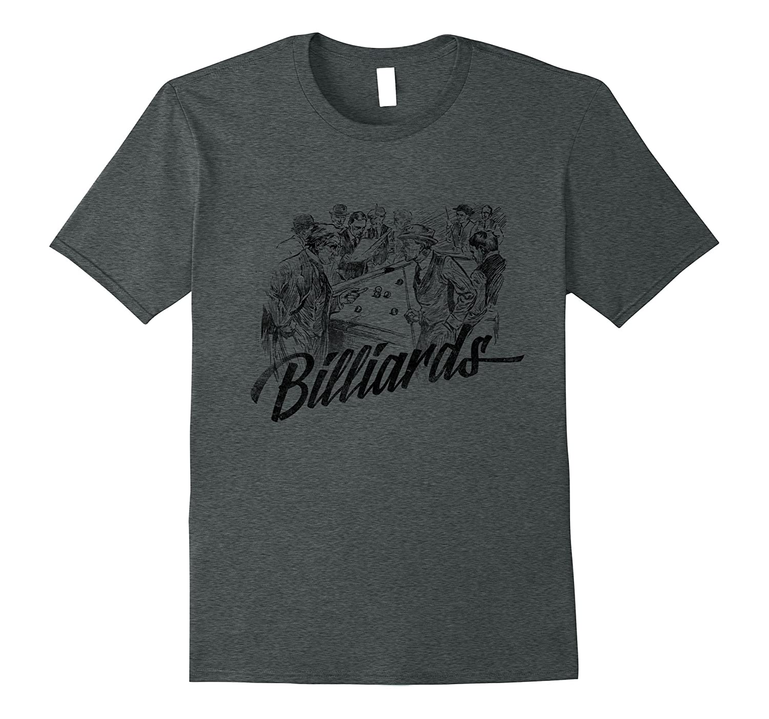 Billiards Lovers Retirement Accessories Funny Gifts T Shirt-CL