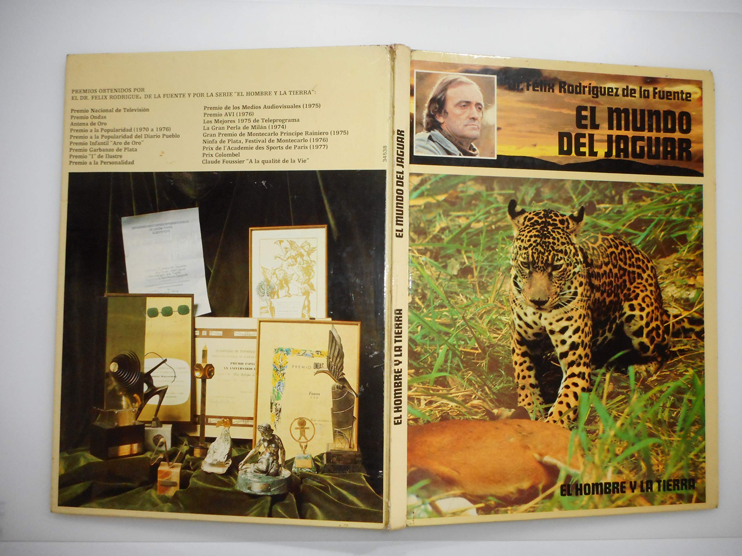 El mundo del jaguar: Amazon.es: Felix Rodriguez de la Fuente ...