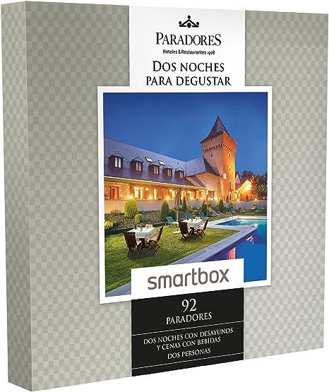 SMARTBOX - Caja Regalo -DOS NOCHES PARA DEGUSTAR - 92 Paradores excepcionales y únicos en España como castillos, palacios o conventos: Amazon.es: Deportes y aire libre